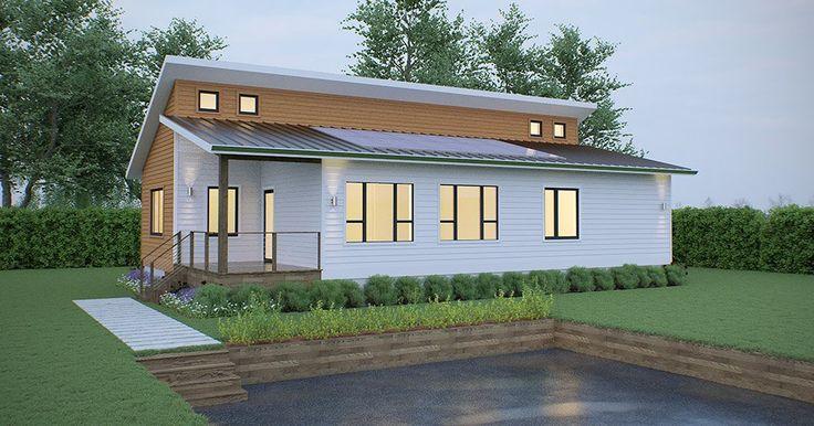 25 best ideas about narrow lot house plans on pinterest for Narrow lot modern modular homes