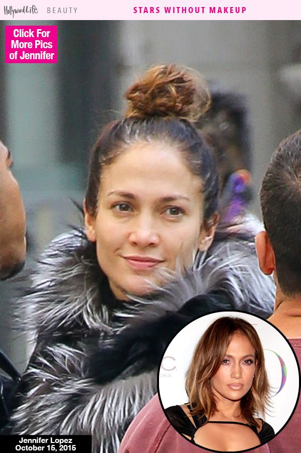 Jennifer Lopez was spotted on the set of her new TV show, 'Shades Of Blue,' wearing absolutely no makeup. We cannot get over how flawless she looks even without a drop of makeup, do you guys agree? What do you think of her natural look? VOTE.