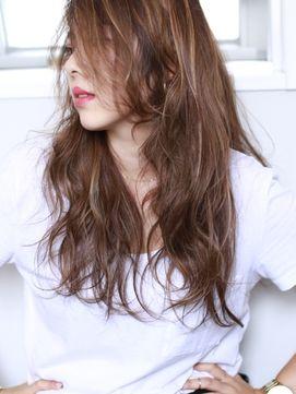 ヘアアンドメイク ジョジ(HAIR&MAKE JOJI)外国人風ハイライト×ロングウェーブ☆