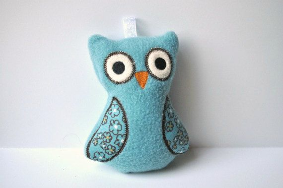 Soft Toys for Baby  Baby Rattle Toy  Baby Rattle  by BirdieAndDot, $12.00