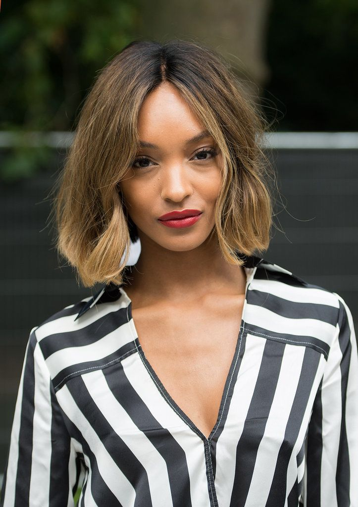 Spring's Best Textured Bobs, Wavy Lobs, and Shoulder-Skimming Cuts: Whether it's the result of growing out a pixie cut or taking the plunge and losing lots of length, the current must-have haircut sits somewhere between the earlobe and the collarbone.