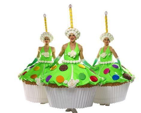 cupcake costumes :-)