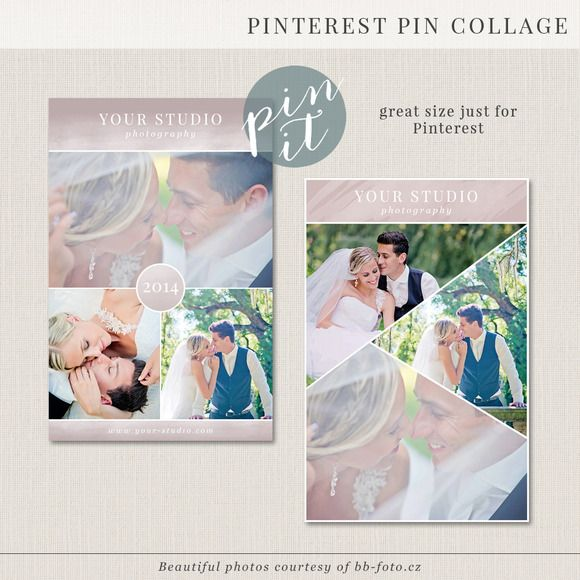Check out Pinterest/blog/web collage template by BrownLeopard on Creative Market
