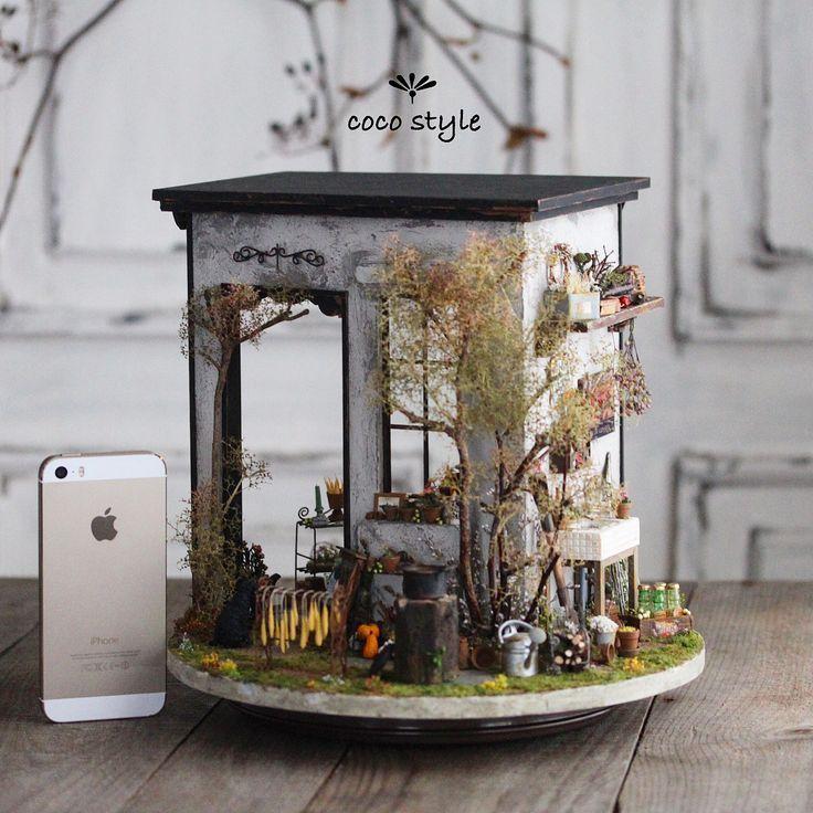 454 Best Miniature Scenes Images On Pinterest
