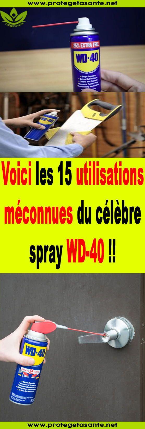 Voici les 15 utilisations méconnues du célèbre spray WD-40! !