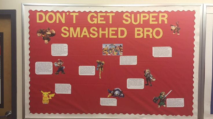 """""""Don't Get Super Smashed Bro"""" has to do with alcohol awareness and some fun facts about alcohol awareness."""
