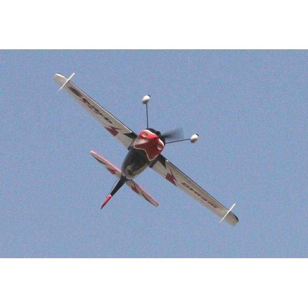 Descripción: El lider en Aviones de radiocontrol eléctricos Dynam RC, nos presenta el modelo Sbach 342 de 1250mm de envergadura pero sorprendentemente