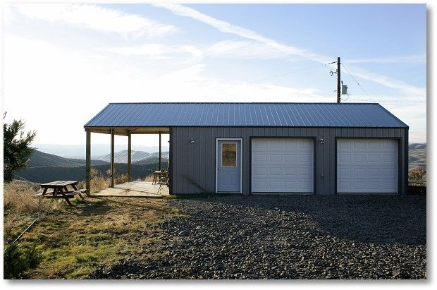 1000 images about pole buildings on pinterest storage for Pole barn with porch