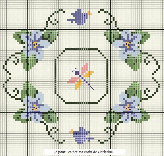 cross stitch dragonfly picture