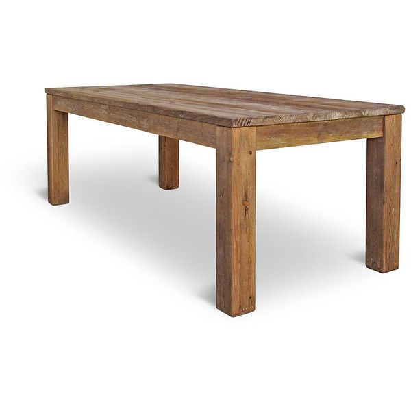 Table Dining Table Kitchen Table Reclaimed Wood Farmhouse Table... ($685) ❤
