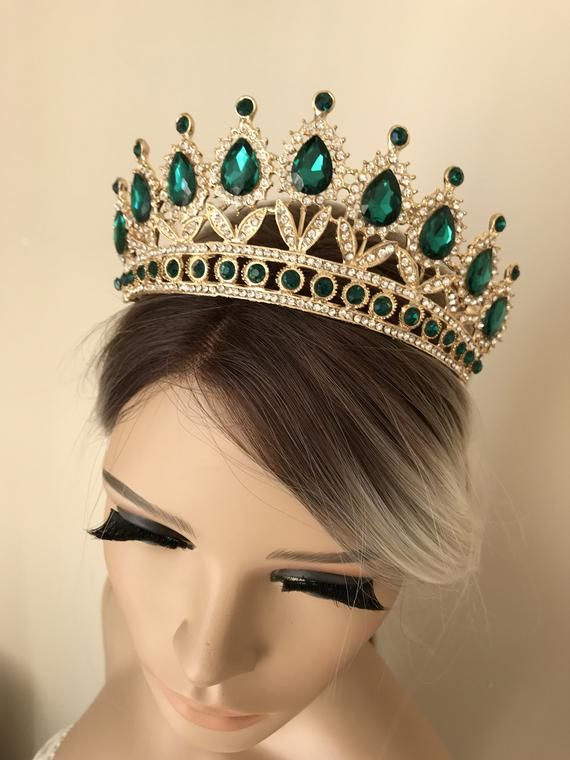 Gold Tiara Bridal Crown Crystal Wedding Tiara Wedding Hair Etsy In 2020 Crystal Wedding Tiaras Bridal Crown Crystal Gold Tiara