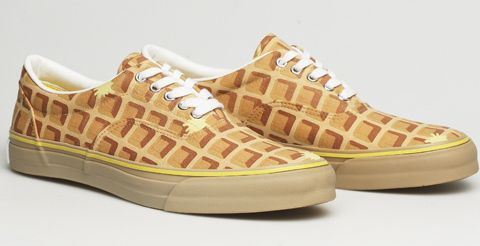 Are waffle shoes actually better than the edible variety?