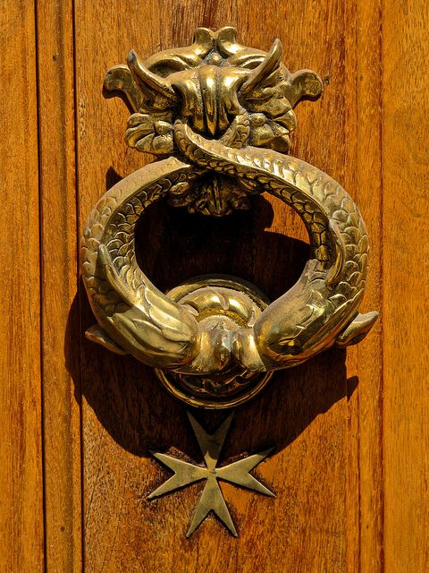 DOOR KNOCKER by PHILIP CHIRCOP, via Flickr | in Malta