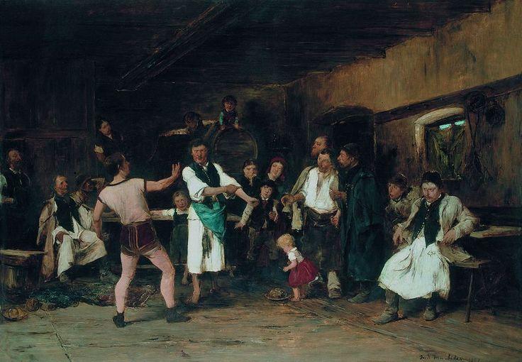 Munkácsy A falu hőse 1882 - Munkácsy Mihály – Wikipédia