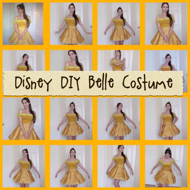 Disney DIY: Belle Costume! the video is long but you can use it for evrything