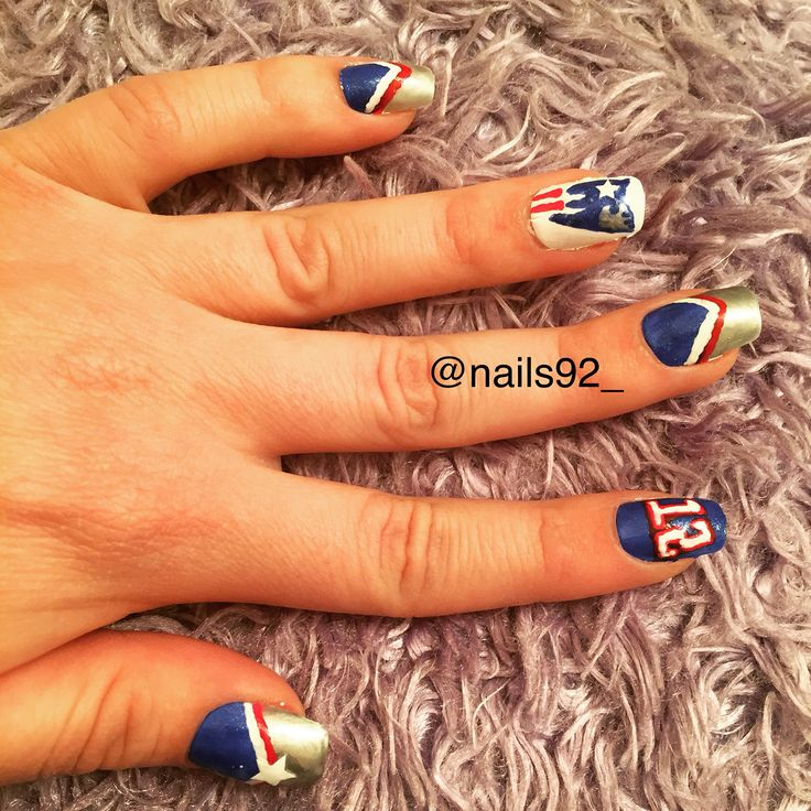 102 best Groovy nails images on Pinterest | Patriots football ...