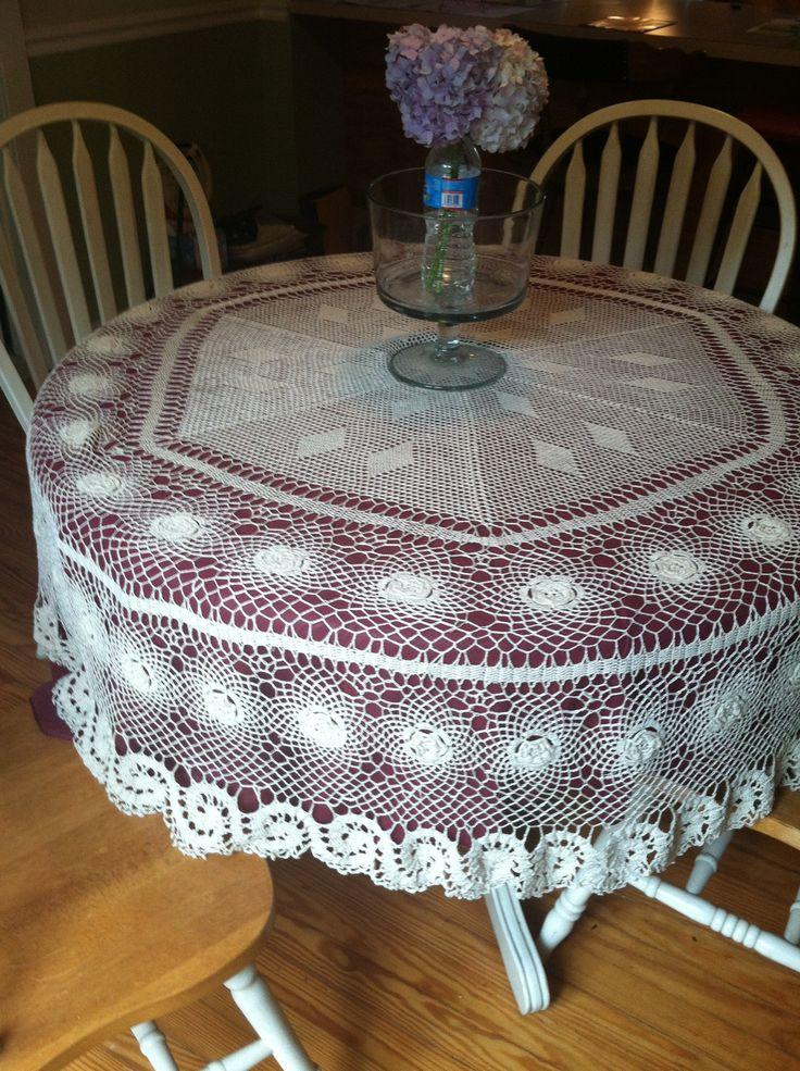 1000+ images about Crochet table cloth on Pinterest ...