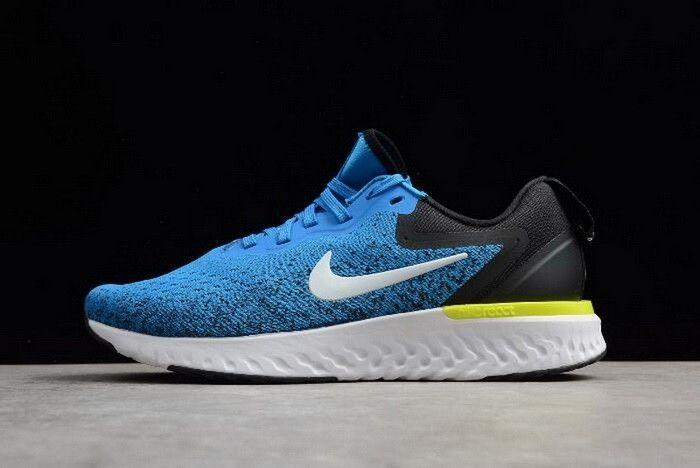 77851dbaf24 Nike Odyssey React Lake Blue Black Mens Running Shoes AO9819-400 ...
