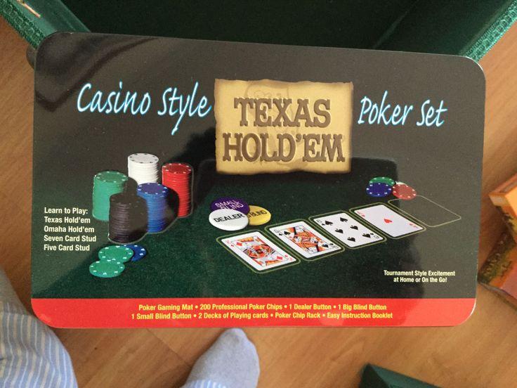 $8.000 - Fichas y Cartas Texas Holdem