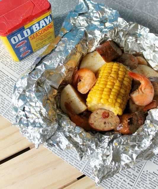 Tin Foil Shrimp Boil!