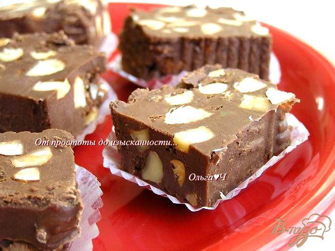 Шоколадный фадж или конфеты