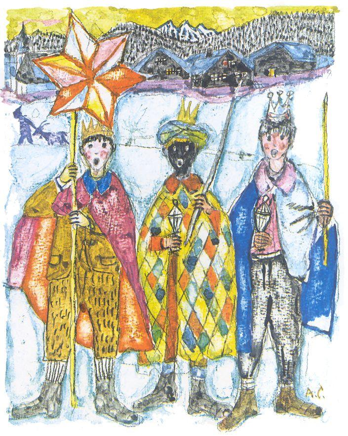 ALOIS CARIGIET - Switzerland / Suiza - Day of the Three Kings / Día de Reyes