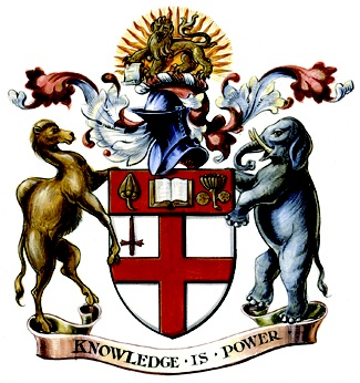 The School of Oriental and African Studies, University of London | #heraldry #coatofarms