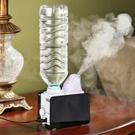 Portable Humidifier for your college dorm room. Its Utah. Ill probably need this
