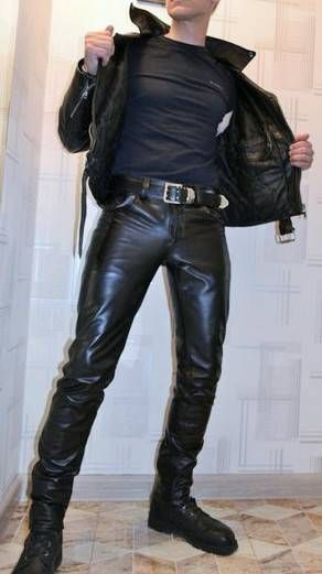 Black Leather and black t-shirts for all the guys
