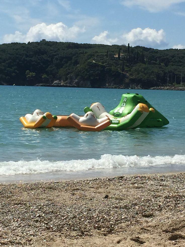 Παραλία Βαλτός, Valtos beach children's playground