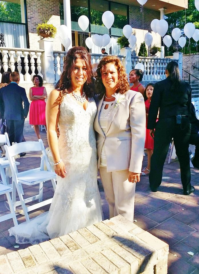 Anna And Margaret S Wedding By Nj Officiant Andrea Purtell At The Beautiful South Gate Manor