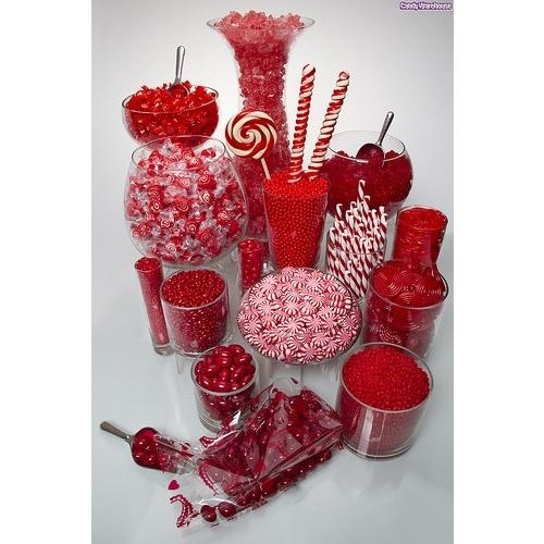 OHH there WILL be candy!  The most amazing candy bar ever will exist at our Wedding :)
