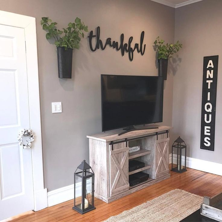We Are #Thankful Haydee Shared Her Creative #homedecor Style W Us! Thx For.  Rustic Paint ColorsDecorate ApartmentTv ... Part 30