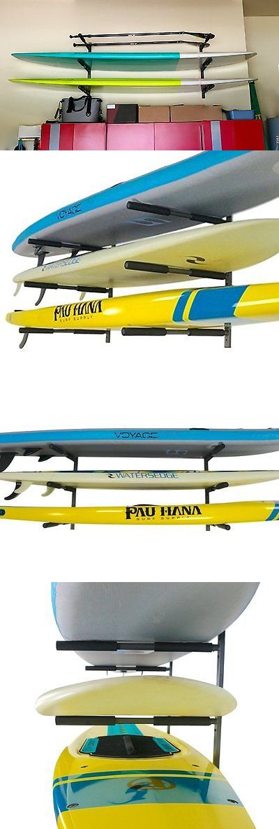 Storage and Display Racks 159164: Storage Rack Sup Kayak Canoe Sports Wall Indoor Mounted Steel Removable Arms -> BUY IT NOW ONLY: $143.99 on eBay!