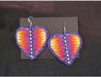 native american beaded earring designs | Handmade Native ...