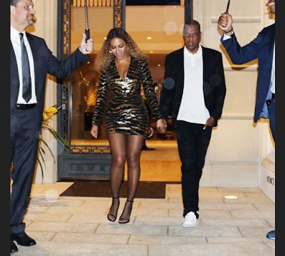 Beyonce and Jay Z stun at Blue Ivy's school Gala - http://www.thelivefeeds.com/beyonce-and-jay-z-stun-at-blue-ivys-school-gala/