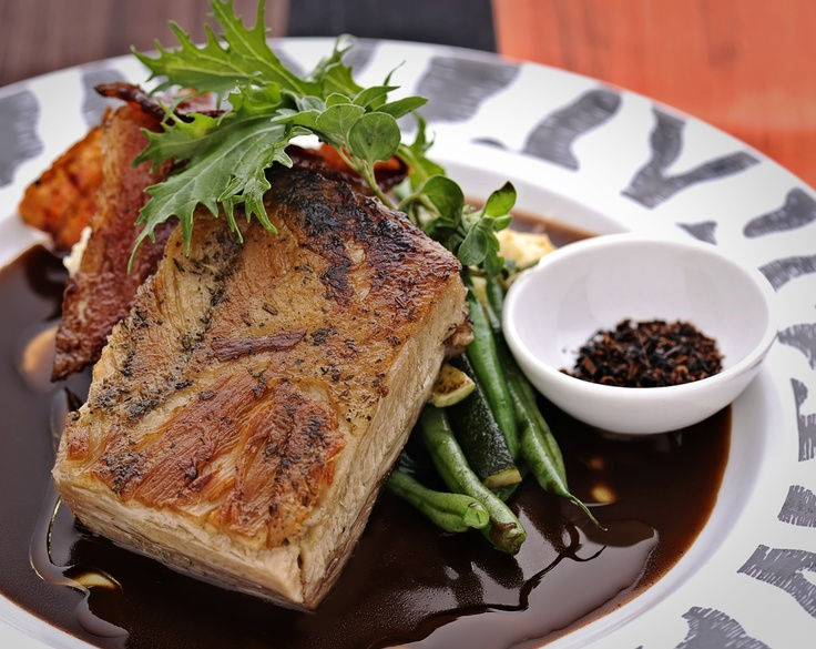 Pork Belly special at Arnolds on Kloof, the better image