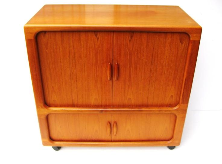 Beautiful Teak TV Schrank Dyrlund mit Lamellent ren danish design midcentury er eBay