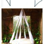 Quick Tip - Recycled Trampoline Hanging Bed!