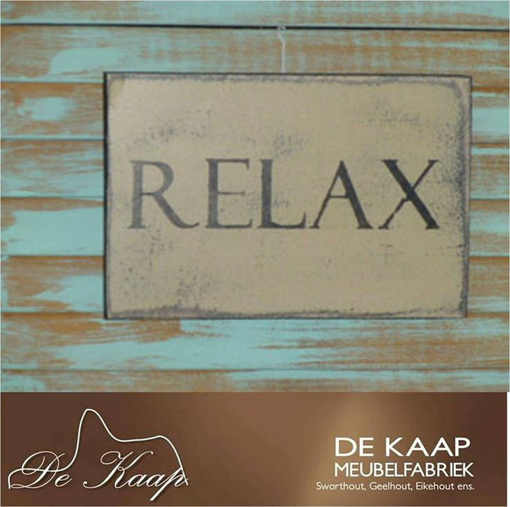 We at De Kaap Meubelfabriek wishes you a lovely Sunday. #Sunday #relax