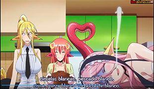 Monster Musume capítulo 8 - redanimes