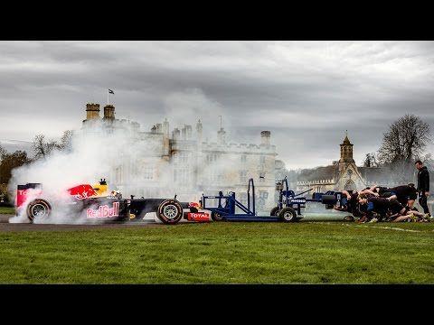 Red Bull- The F1 Scrum with Daniel Ricciardo and Bath Rugby Club - THEINSPIRATION.COM