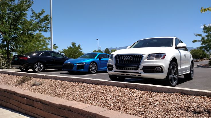 "♥ Audi Ville - Audi Q5, R8 Coupe & A5 Coupe - ""Olaf"" made new friends today"