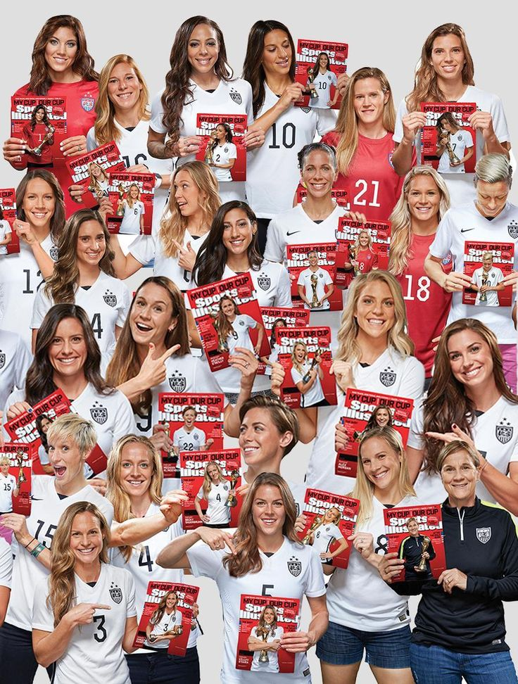 Every Single Member of the US Women's National Soccer Team Has Her Own Solo 'Sports Illustrated' Cover!