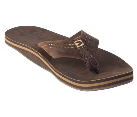 VERE SANDALS - Men's full-grain leather sandal. Made in USA.