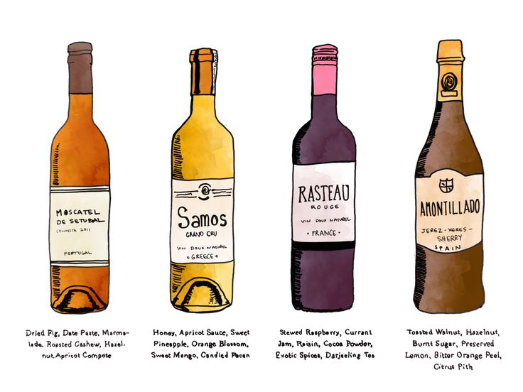4 Fortified Wines that are affordable and delicious Moscatel de Setubal, Muscat of Samos, Rasteau VDN, Amontillado Sherry