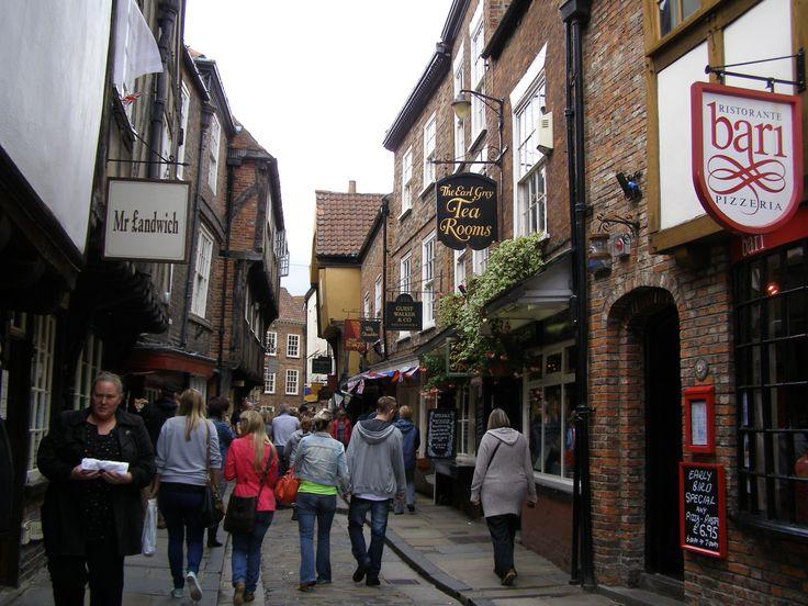 The Shambles York, England  July 2012