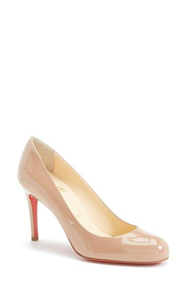 Christian Louboutin Simple Pump available at #Nordstrom ~ My next gift to me