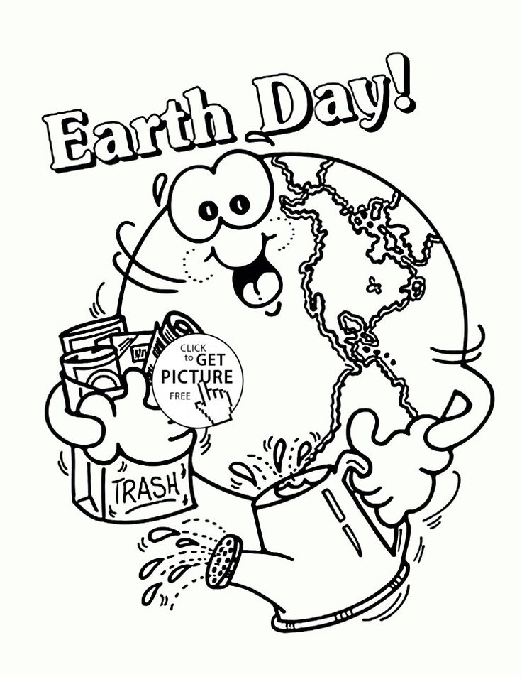 earth coloring pages for preschoolers - photo#15