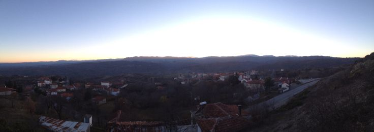 Oropedio village,Grevena Greece